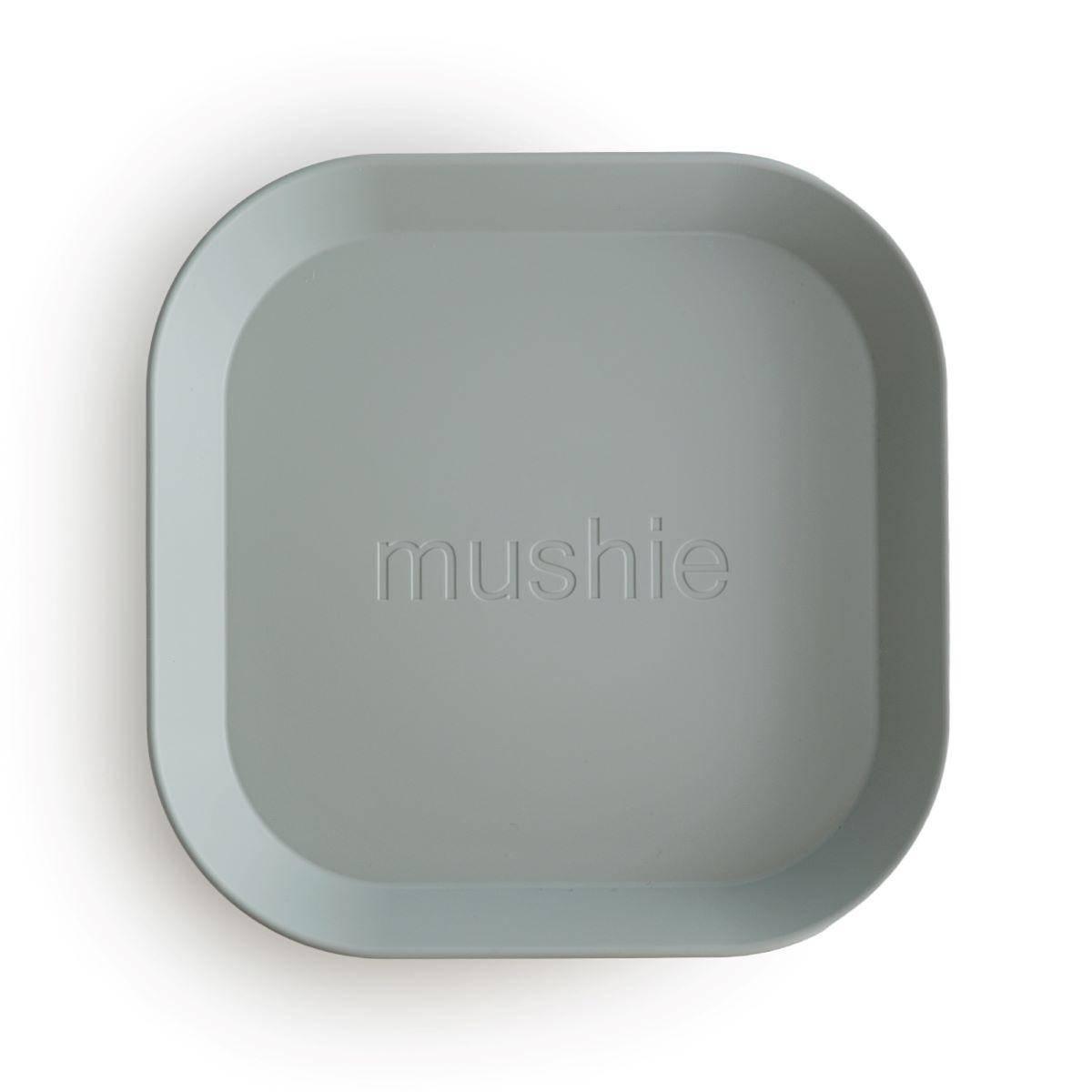 Tallerken 2pk - Mushie - Sage